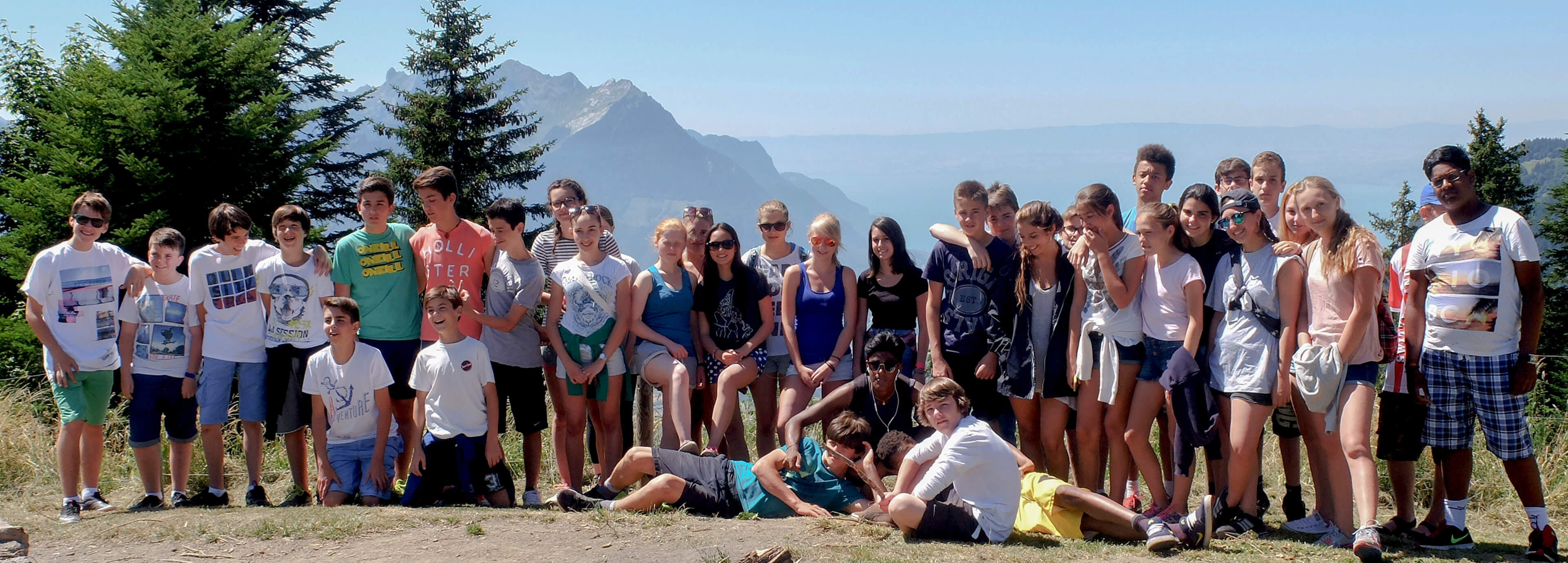 スイス・アルプスのリゾートでジュニアキャンプ留学【8歳-17歳対象】
